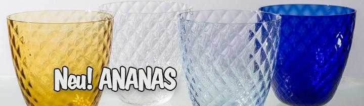 Zafferano-Trinkglas-ANANAS