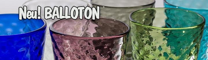 Zafferano-Trinkglas-Ballaton