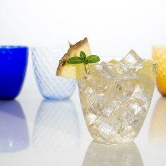 Zafferano Trinkglas Ananas